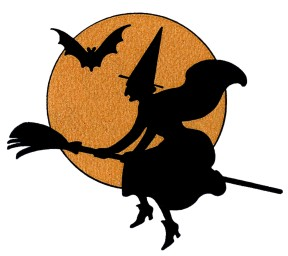 witch-and-bat-orange-moon